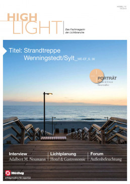 Titelbild HighLight Magazin Ausgabe 7-8 2018