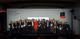 Die Gewinner am 13. Januar 2019 in Köln (Quelle: Rat für Formgebung / Fotos: Daniel Banner)