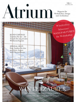 Titelbild Magazin Atrium Januar 2021